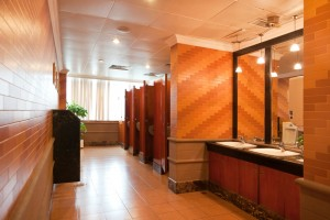 Dust Control, Mats and Restroom Services
